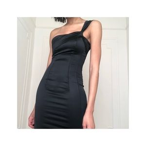 One Shoulder Bodycon LBD